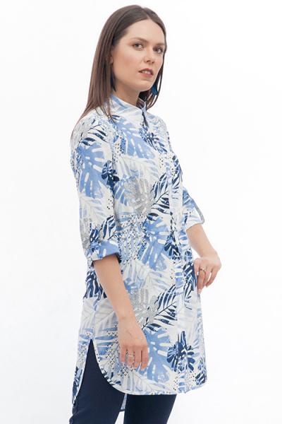 Стильная рубашка-туника, Б-236/1